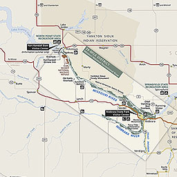 Maps Missouri National Recreational River US National Park Service
