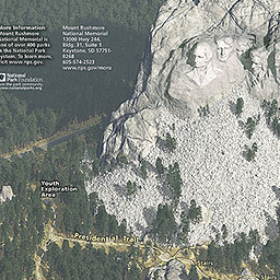 Maps Mount Rushmore National Memorial US National Park Service - The crew us map