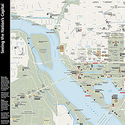 image about Printable Map of Washington Dc Mall titled Maps - Countrywide Shopping mall and Memorial Parks (U.S. Countrywide Park