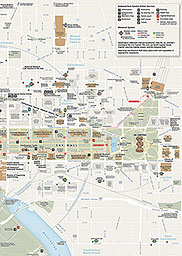 image regarding Printable Map of Washington Dc Mall referred to as Maps - Nationwide Shopping mall and Memorial Parks (U.S. Nationwide Park