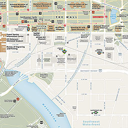 Maps National Mall And Memorial Parks US National Park Service - Us map of dc