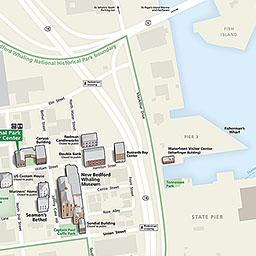 Maps New Bedford Whaling National Historical Park US National - Map os us national historical parks