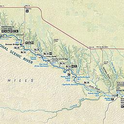 Maps Niobrara National Scenic River US National Park Service - Us river map
