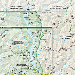 maps north cascades national park u s national park service