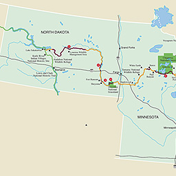 Maps North Country National Scenic Trail U S National Park Service