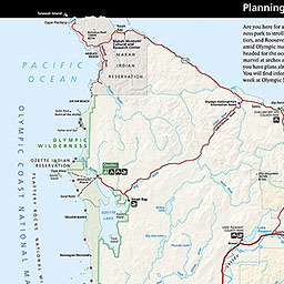 Maps Olympic National Park US National Park Service - Us map with national parks