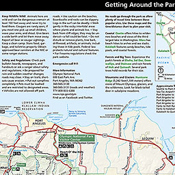 Maps  Olympic National Park US National Park Service