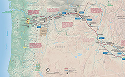 Maps Oregon National Historic Trail US National Park Service - Oregon map us