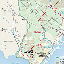 Maps New Jersey Pinelands National Reserve U S National Park
