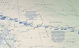 maps pony express national historic trail u s national park