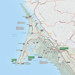 Point Reyes Map Maps   Point Reyes National Seashore (U.S. National Park Service)