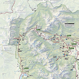Map Of Rocky Mountain National Park Maps   Rocky Mountain National Park (U.S. National Park Service)