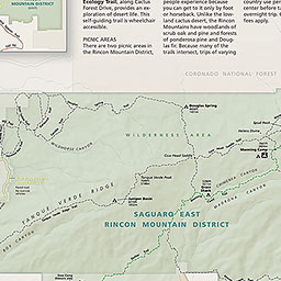 Maps Saguaro National Park US National Park Service