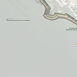 Disclaimer | This Map Is A Graphical Representation Designed For General  Reference Purposes Only. Undefined. Old San Juan Map (pdf ...