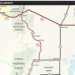 Maps Salinas Pueblo Missions National Monument US National Park