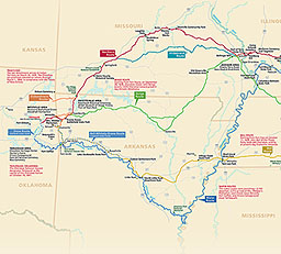 Maps - Trail Of Tears National Historic Trail (U S  National