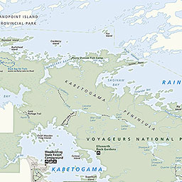 Maps Voyageurs National Park US National Park Service