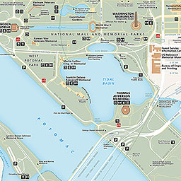 Maps Washington Monument US National Park Service - Washington dc on map of us