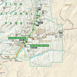 Disclaimer This Map Is A Graphical Representation Designed For General Reference Purposes Only Zion National Park Map