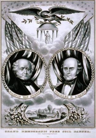Martin Van Buren campaign slogan