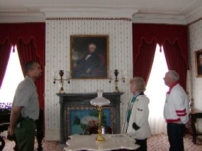 formal parlor inside Lindenwald