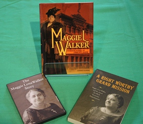 Books and DVD about Maggie L. Walker