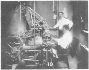 St. Luke printing department