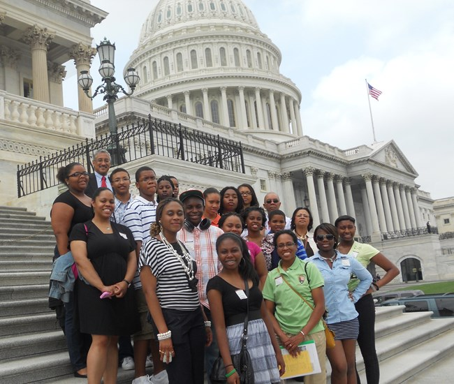 2011 Maggie L. Walker Youth Summer Leadership Institute participants