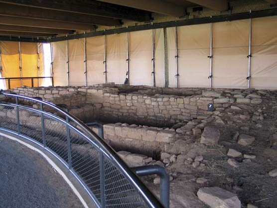 Badger House Pueblo Room Block