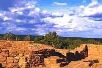 Pueblo site at Far View Sites Complex