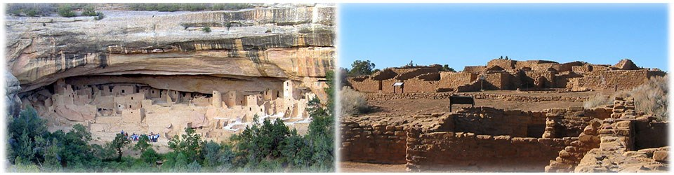 Cliff Dwelling and Mesa Top sites