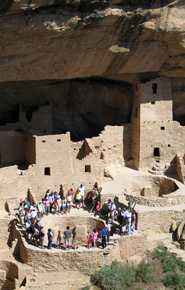 Tour at Cliff Palace