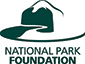 National Park Foundation logo with ranger hat