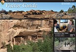 Front page of the summer visitor guide publication