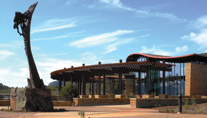 Mesa Verde Visitor and Research Center Plaza