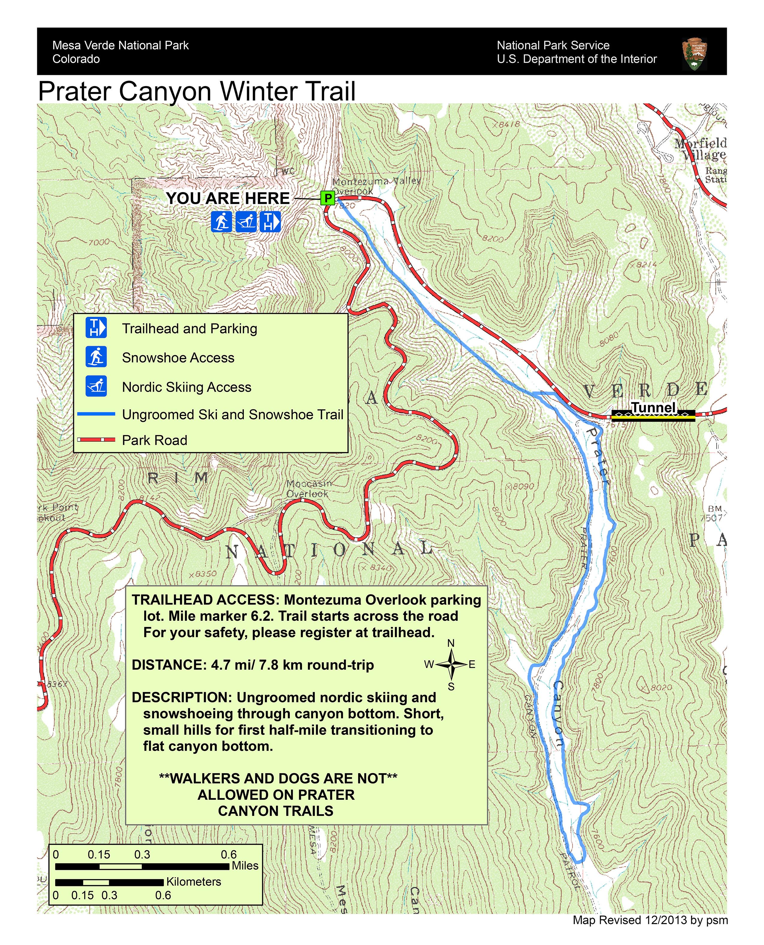 Winter Activities: Cross-Country Skiing and Snowshoeing - Mesa Verde ...