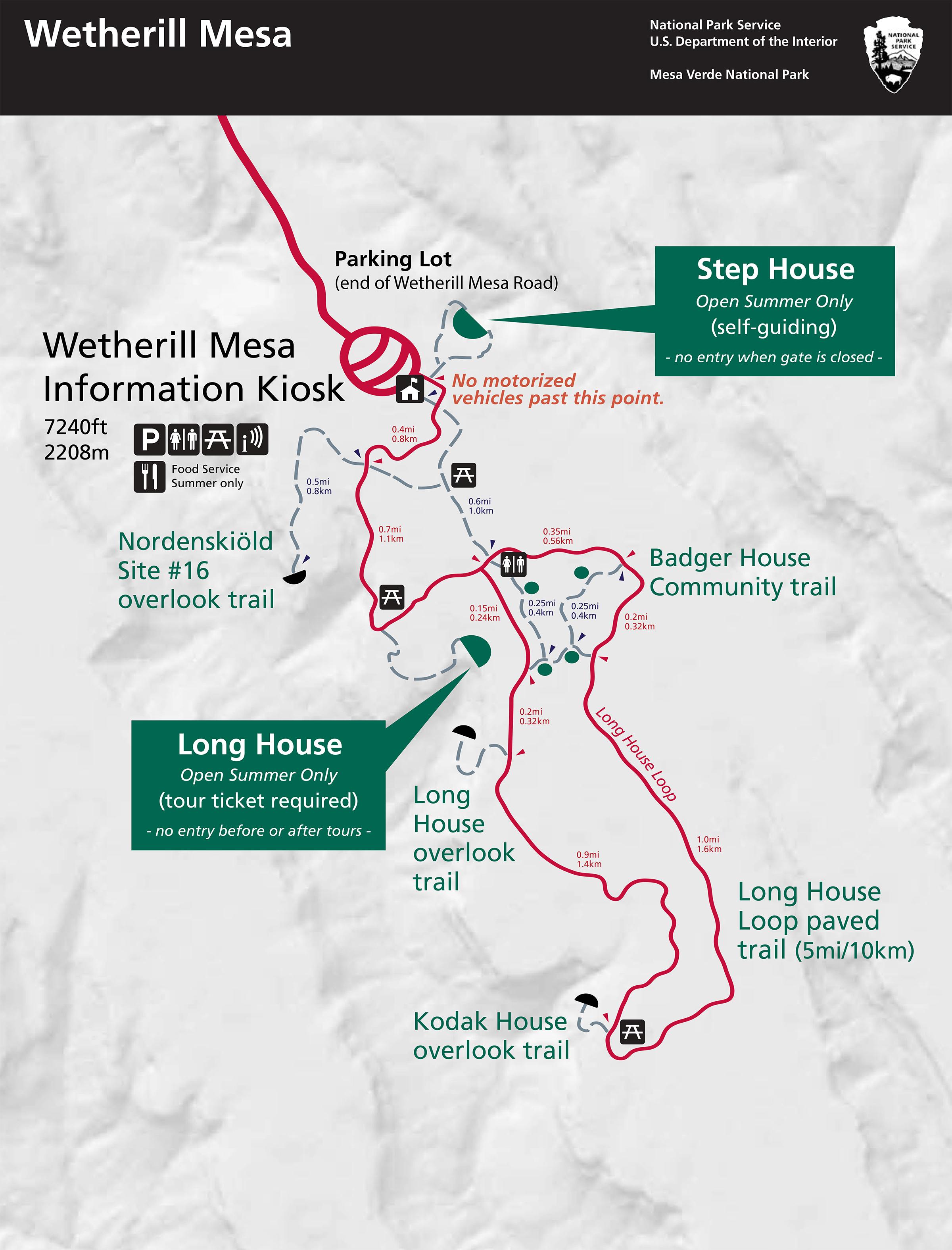 Maps Mesa Verde National Park US National Park Service