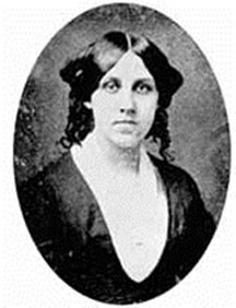 Louisa May Alcott portrait