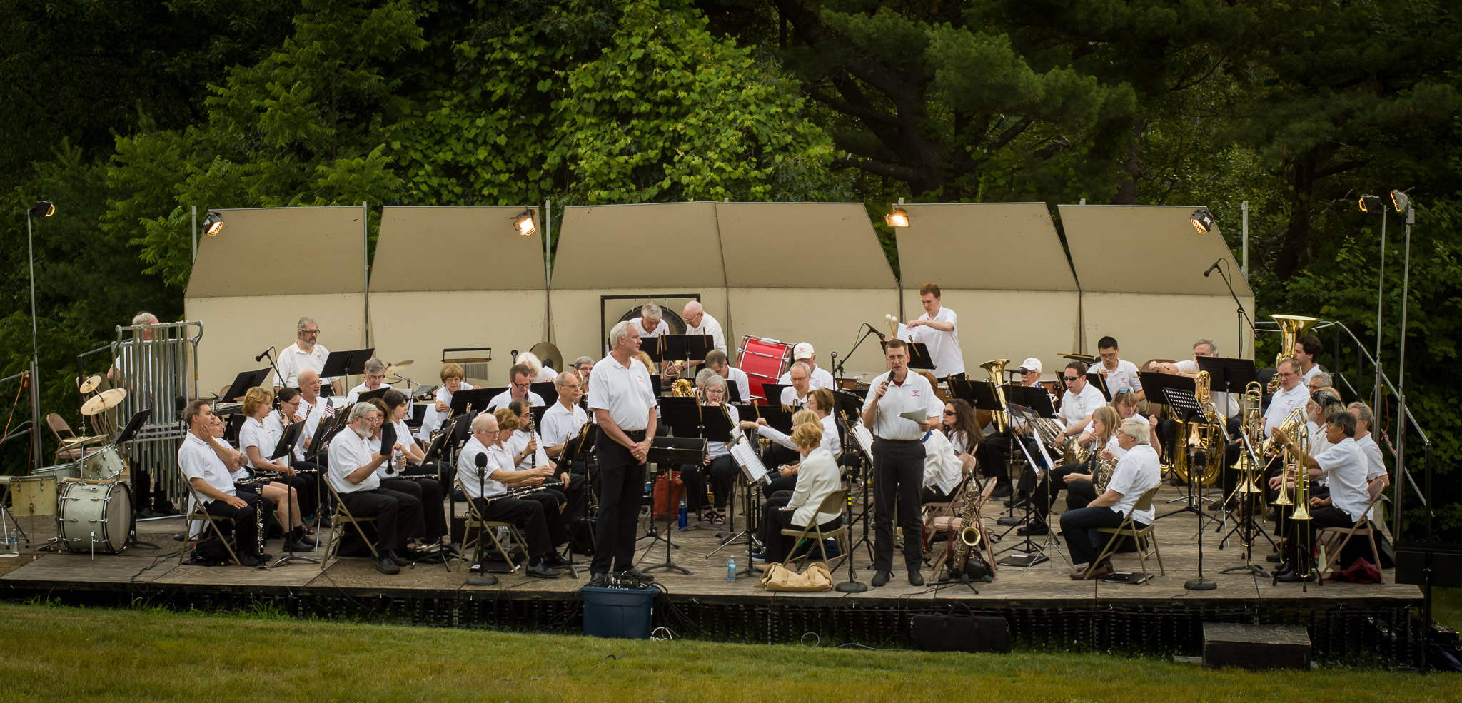 Concord Band at Fruitlands, 2015