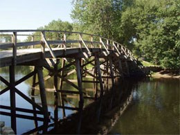 The North Bridge, Concord MA.