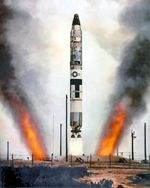 Titan II missile launches