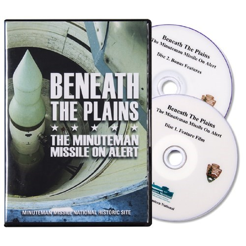 A DVD case with cover image of a missile and two discs shown