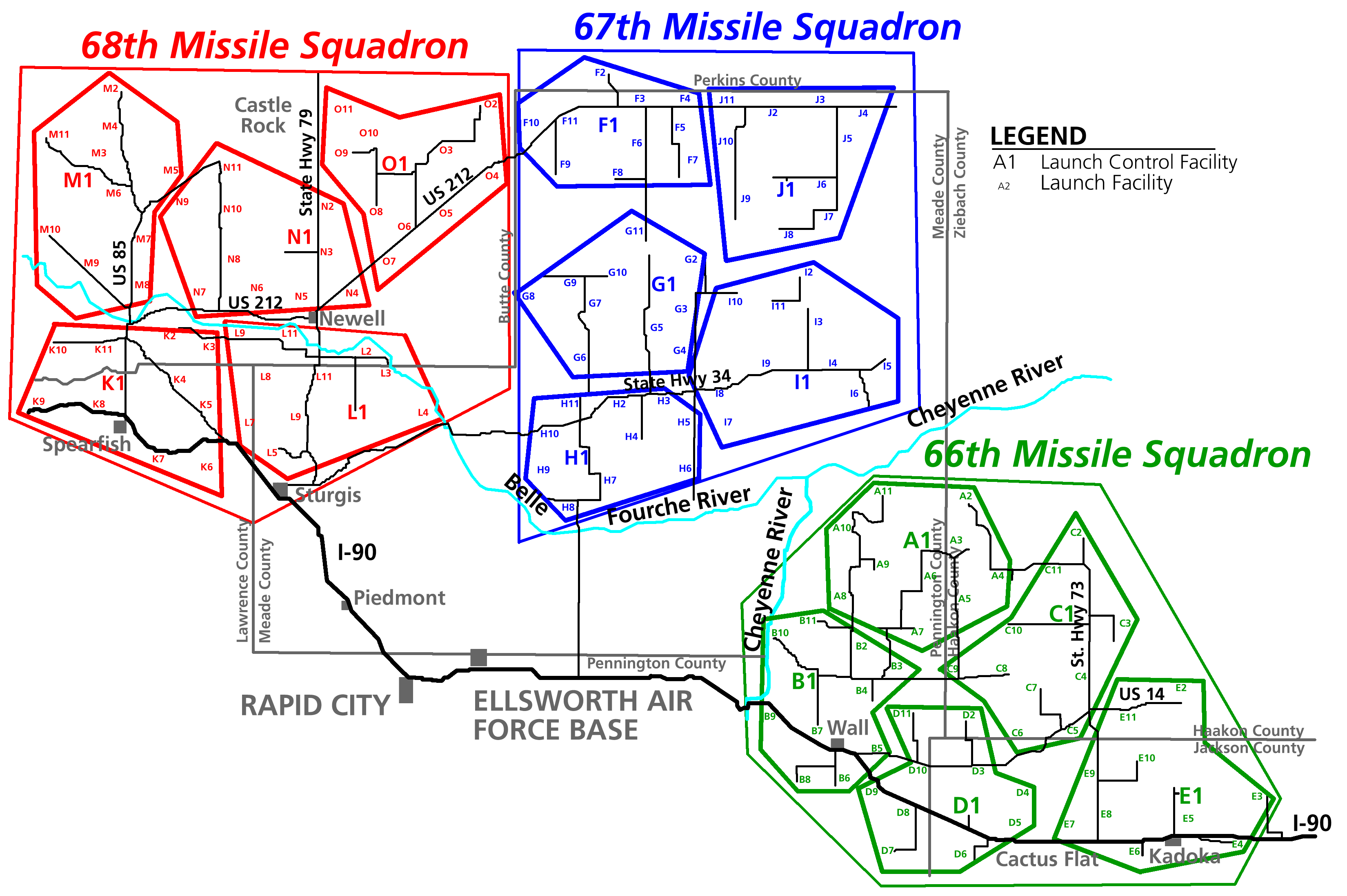 Missile Silo Map North Dakota Submited Images