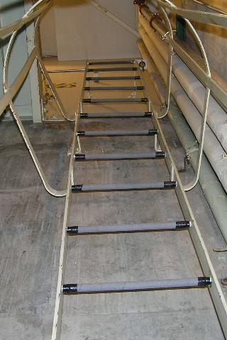 Ladder leading from underground at Delta-01