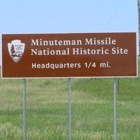 Minuteman Missile directional sign