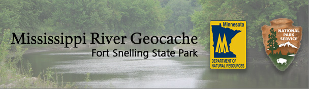 Mississippi River Geocache: Fort Snelling State Park