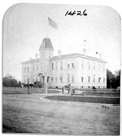 The Department of Dakota Headquarters, 1880.