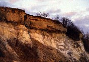 Mississippi River cliffs