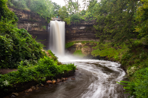 Minnehaha Park minnehaha falls regional park - mississippi national river and