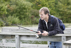 This is a great way to learn about fishing without having to buy the